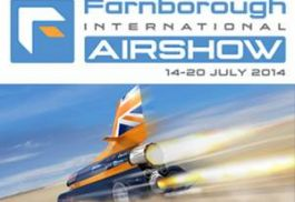 Cam Lock at Farnborough International Air Show with Bloodhound Super Sonic Car!