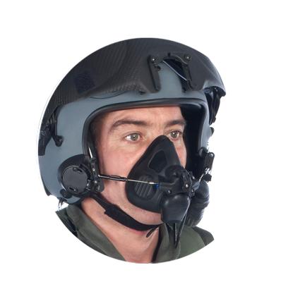 ADOM 9G Oxygen Mask | Aircrew Pilot Oxygen Masks by Cam Lock
