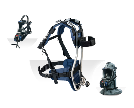 QUEST SCBA - QFR - Type 1 Industrial SCBA
